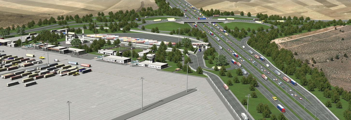 Silopi Beltway And Brıdge Crossıng Connectıon And Tır Park Infrastructure Study Projects