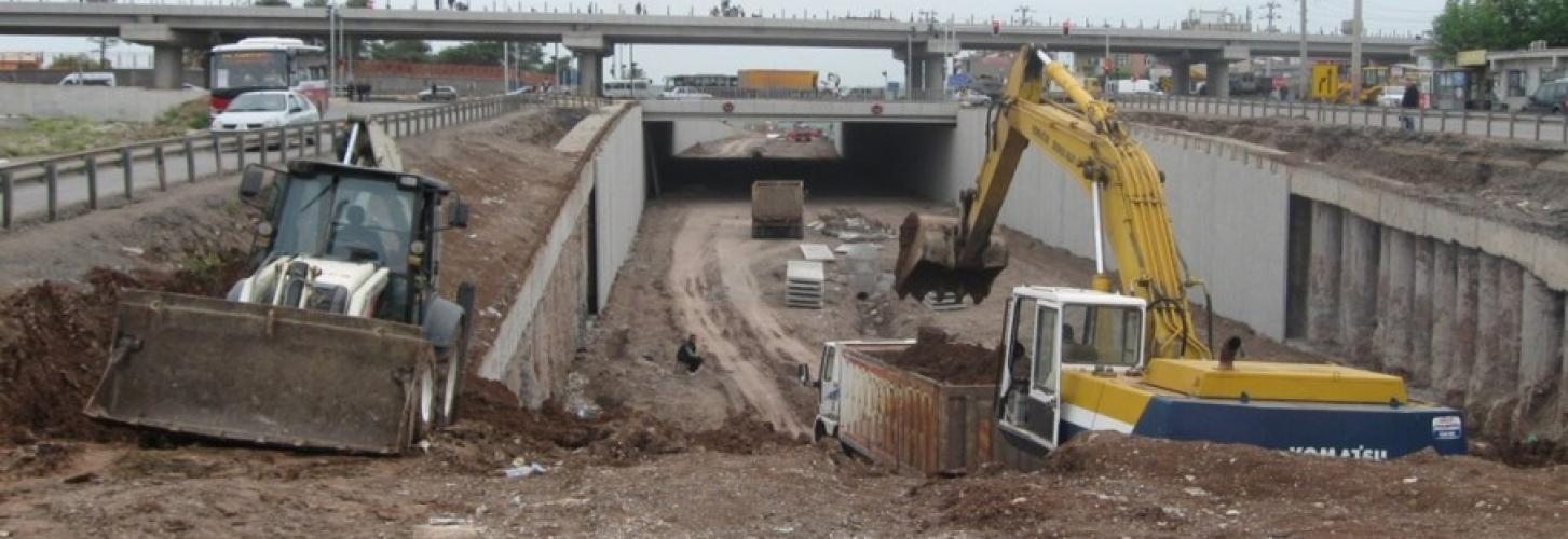 Diyarbakır Seyrantepe Bridge Crossing Projects