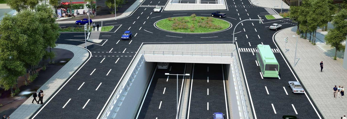 Mersin-Adana State Highway Atilla Altıkat Multi Level Interchange Survey Projects