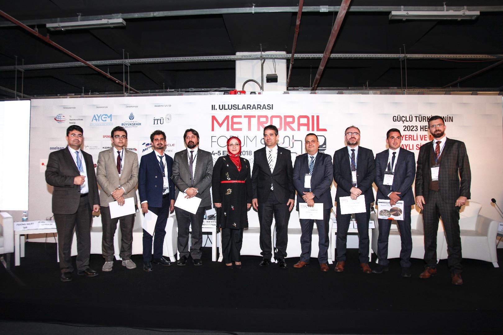 II.Uluslararası Metrorail Forumu'na Katıldık