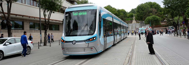 Konya Tramvay Uygulama Projeleri