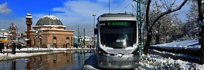 Konya Tramway Implementation Projects