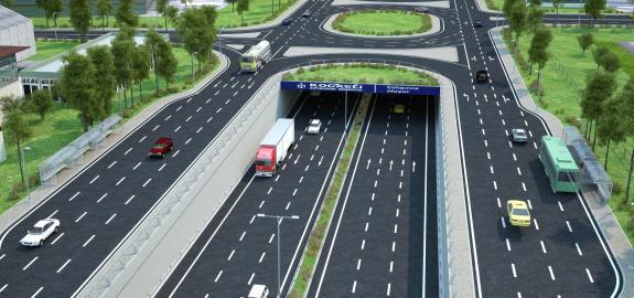 Kocaeli D-100 Aşıroğlu Köprülü Kavşağı Uygulama Projesi
