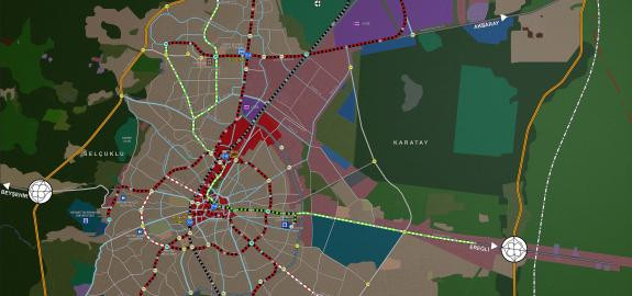 Konya Transportation Master Plan Revision 2030
