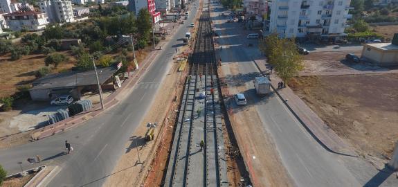 Antalya 3. Aşama Raylı Sistem Hattı Yapımı ve Tramvay Araç Alımı Müşavirliği