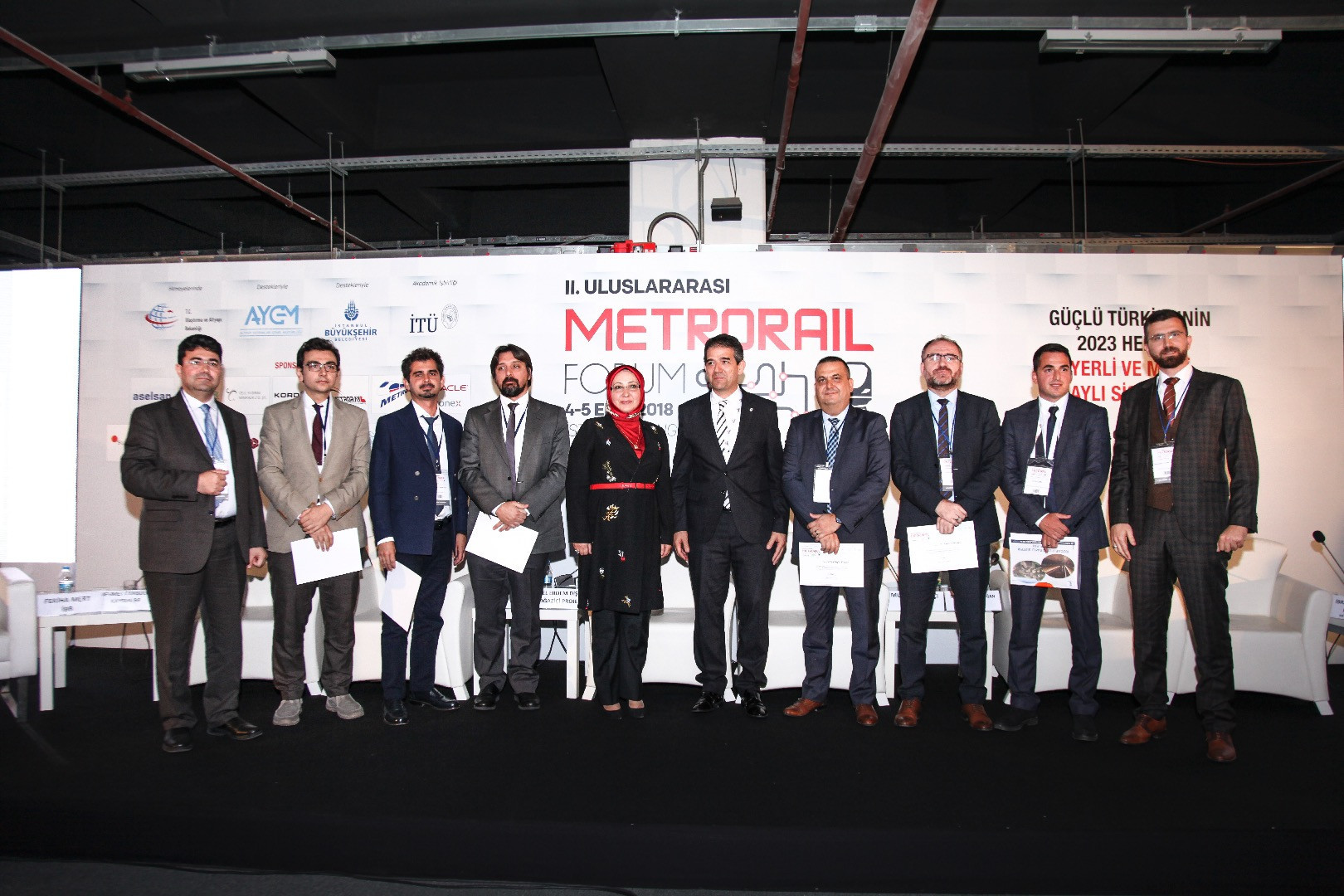 We Attended the 2nd International Metrorail Forum.