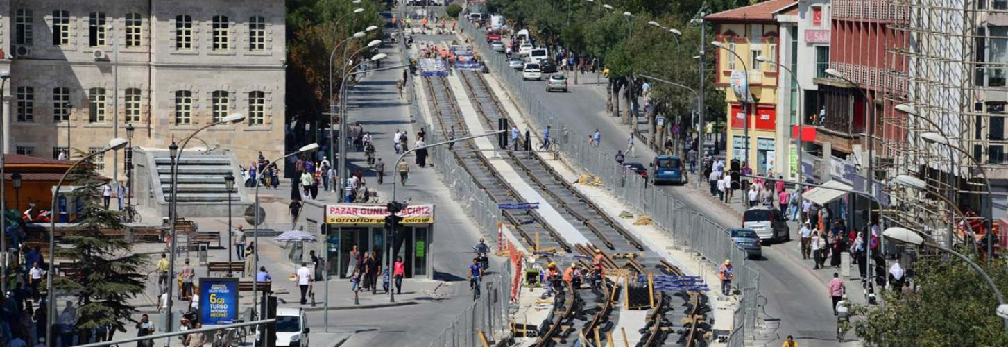 Konya Tramway Implementation Projects