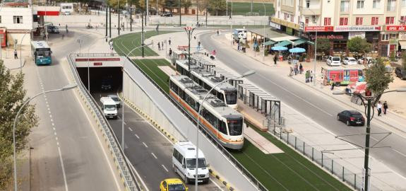 Gaziantep City Center Railway System Implementation Projects